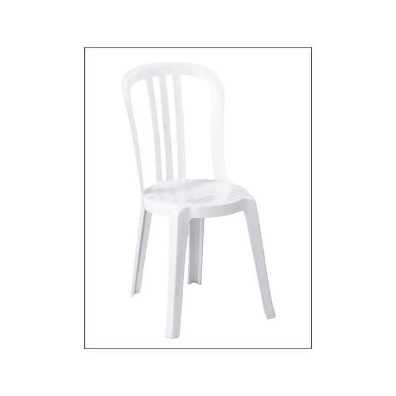Sedia bistro miami bianca grosfillex