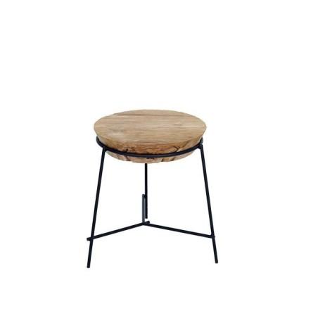 Tavolino da caffè rotondo Chio diam. 40