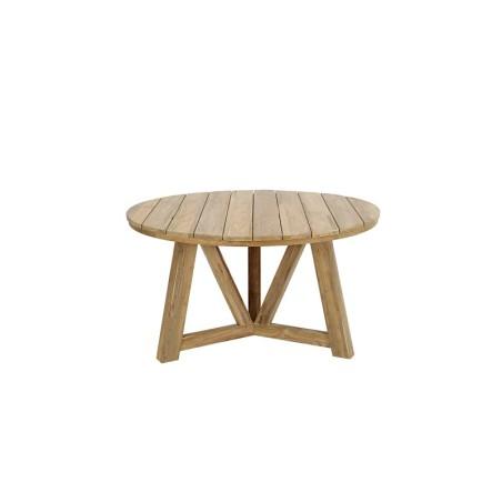 Tavolo in teak reciclato diam.140 Polluce Cb design