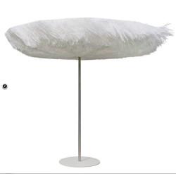 Ombrellone diametro  250  H 240 Frou Frou Sywawa bianco