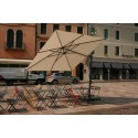 Ombrellone Glazt Sombrano Easy cm 300x300 ecru