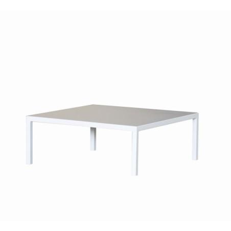 Tavolo basso Mogan Vermobil cm 60x60x38H bianco